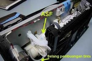 bongkar Printer Epson C90